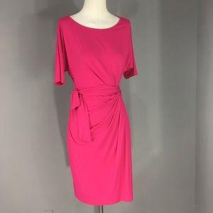 Hot Pink Ann Taylor Dress 🌷